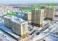 Жилой комплекс ЮЖНЫЙ, дом «Янтарный»: Ход строительства январь 2019