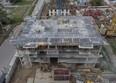 НИКИТИНА, дом 4: Ход строительства август 2020