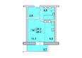 Первый Ленинский квартал, д. 2: Планировка 1-комн 28, 28,5 м²