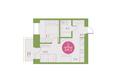 Арбан Smart на Краснодарской, дом 3: 2-комнатная 34 кв.м