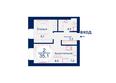 Жилой комплекс SCANDIS (Скандис), дом 7: Планировка двухкомнатной квартиры 35,1 кв.м
