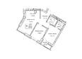 ГУДИМОВ: Планировка трехкомнатной квартиры 60,1 кв.м