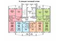 Жилой комплекс ПРИОЗЕРНЫЙ, дом 3: Блок-секция 4. Планировка типового этажа