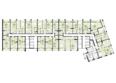 Жилой комплекс ПАНОРАМА, дом 3: Планировка 6-15 этажей