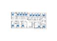 НА БОЛЬШОЙ ПОДГОРНОЙ, Б/С 4,5,6: Планировка типового этажа, 2 б/с
