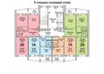 Жилой комплекс ПРИОЗЕРНЫЙ, дом 3: Блок-секция 3. Планировка типового этажа