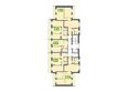 Жилой комплекс МАРСЕЛЬ, 6 этап: Блок-секция 14. Планировка типового этажа