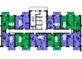 ТИХИЕ ЗОРИ, дом 1 (Красстрой): Блок-секция 2. Этажи 2-19