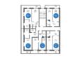НА БОЛЬШОЙ ПОДГОРНОЙ, Б/С 4,5,6: Планировка типового этажа, 8 б/с
