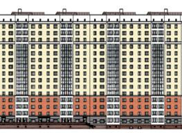 Продается 3-комнатная квартира ПРИБРЕЖНЫЙ-2 (Перелета, 28), 68.65  м², 5767000 рублей