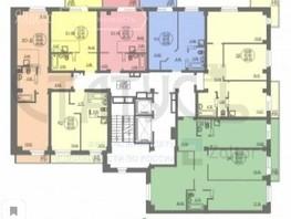 2-комнатная квартира, 46.66  м², 1/15 этаж