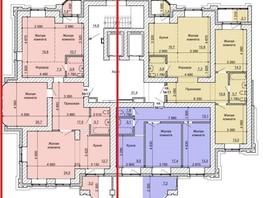 4-комнатная квартира, 123.4  м², 4/17 этаж