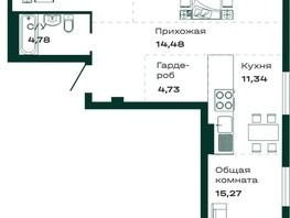 Продается 3-комнатная квартира ЛОКОМОТИВ, б/с 3 и 4, 86.38  м², 6046600 рублей