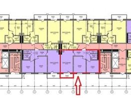 2-комнатная квартира, 61.36  м², 13/22 этаж