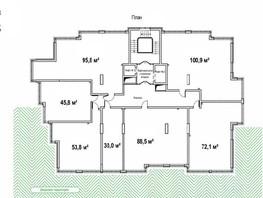 1-комнатная квартира, 72.1  м², 13/14 этаж