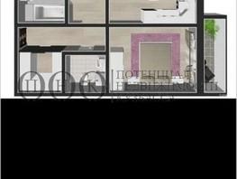 Продается 3-комнатная квартира МОСКОВСКИЙ ПРОСПЕКТ, дом 17, 65  м², 4900000 рублей
