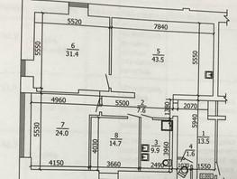 3-комнатная квартира, 149  м², 3/3 этаж