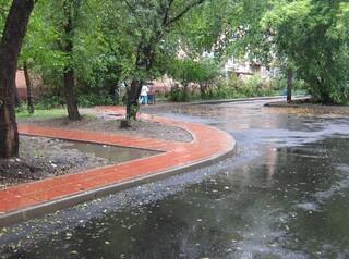 Благоустройство дворов в Иркутске начали раньше, чем обычно