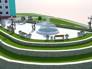 В Тулуне обустроят сквер с «танцующим» фонтаном