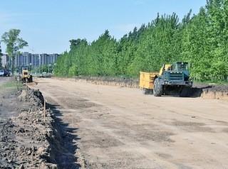 Новый участок улицы Солнечная Поляна откроют для транспорта в 2020 году