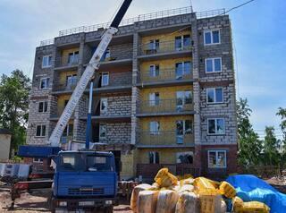 В Братске законсервируют недостроенные дома для переселенцев