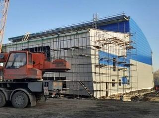 В Кемеровской области продолжается строительство спортивных объектов