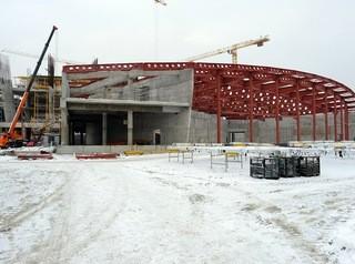 Ледовую арену в Новосибирске построят досрочно
