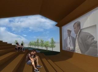 Парк у остановки «Кинотеатр «Чайка» превратят в коворкинг под открытым небом