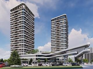 Архитекторы показали проект нового жилого комплекса на Взлетке