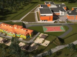 На строительство детского сада в ЖК «Юго-Западный» выделены средства из федерального бюджета