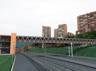 В Красноярске появится третий алюминиевый пешеходный мост