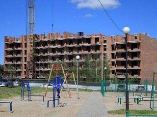 Самая большая новостройка Томска возводится на улице Нефтяной