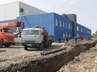 Крытый каток в Рудничном районе Кемерова готовится к открытию