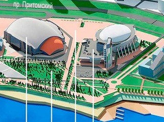 Новую набережную с пляжем обустроят возле спорткомплекса «Кузбасс-Арена»