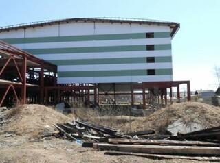 В Усть-Ордынском обследуют недостроенный дом спорта