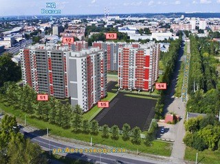 Областной Фонд РЖС строит новый жилой комплекс в Кемерове