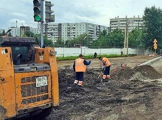 В Красноярске расширили список дорог, которые отремонтируют в этом году