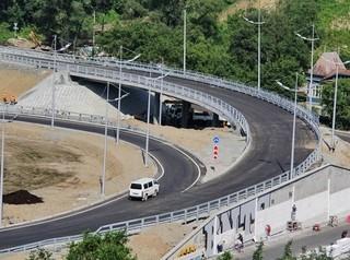 Новый проект съезда с четвертого моста в микрорайон Пашенный проходит экспертизу
