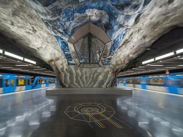 Станция метро Tekniska högskolan (Стокгольм)