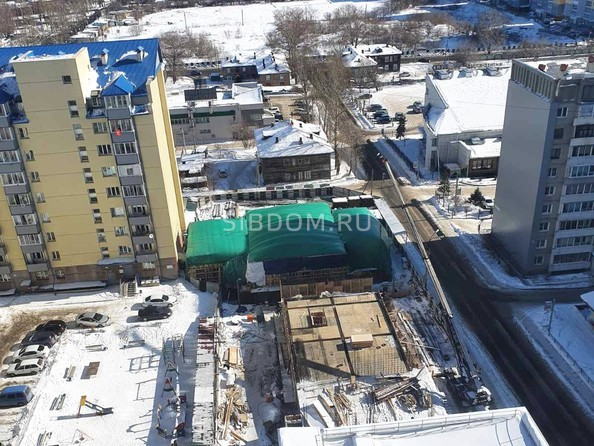Ход строительства 2 марта 2021