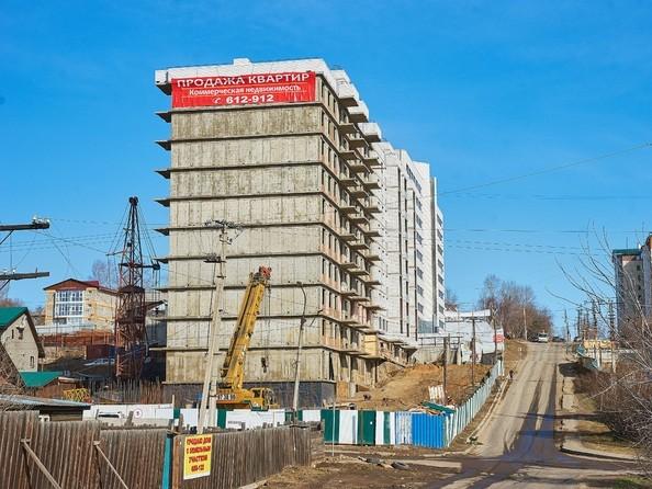 Фото Жилой комплекс ОЧАГ, 2 оч, Ход строительства 22 апреля 2019