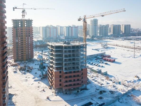 Фото Жилой комплекс КВАДРО, дом 1, Ход строительства 21 февраля 2018