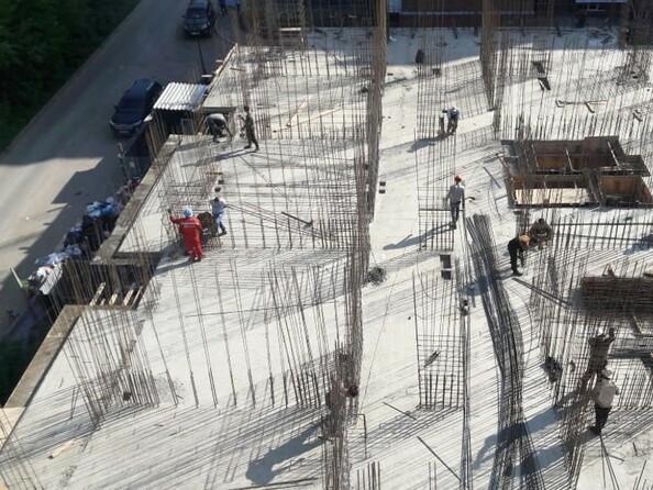 Фото АЛЕКСАНДРИЯ, б/с 6, Блок-секция 6. Ход строительства август 2019