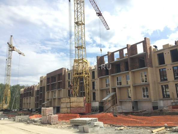 Фото Жилой комплекс СВОБОДА, дом 6, Ход строительства 25 мая 2019