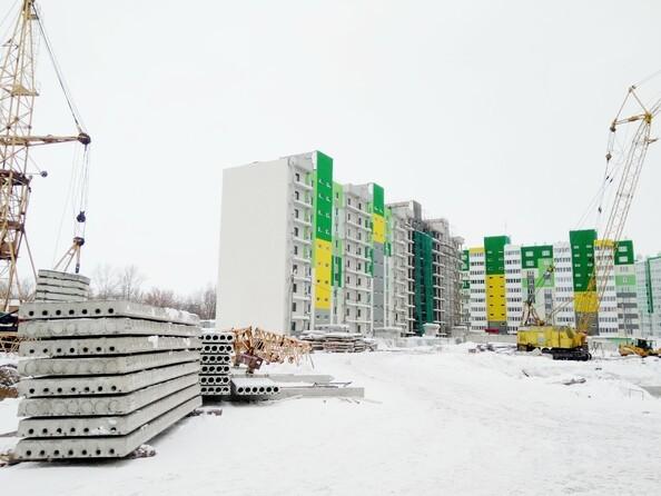 Фото Жилой комплекс БЕРЁЗОВАЯ РОЩА, 70е, 1 очередь, Ход строительства февраль 2019