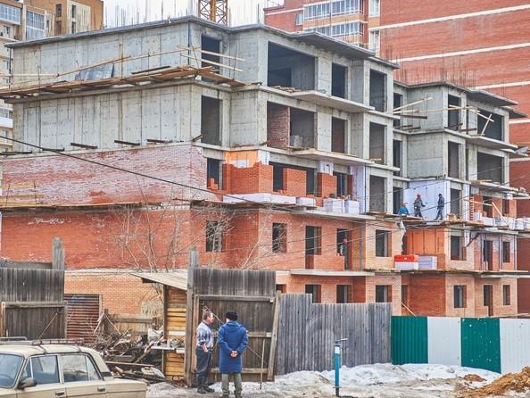 Фото Жилой комплекс РОДНОЙ БЕРЕГ, б/с 4, Ход строительства 28 марта 2018