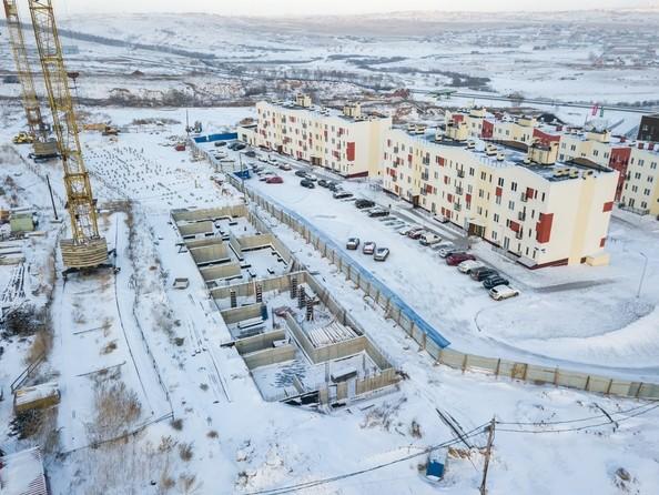 Фото Жилой комплекс ЖИВЁМ эко-район, 3 квартал, дом 1, Ход строительства 24 декабря 2018