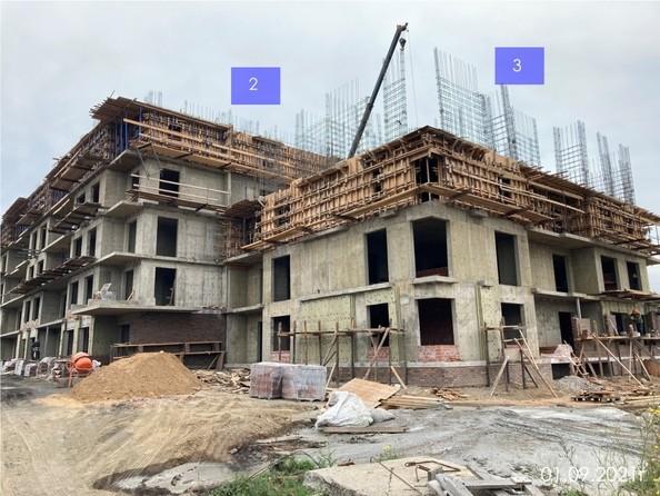 Ход строительства 1 сентября 2021