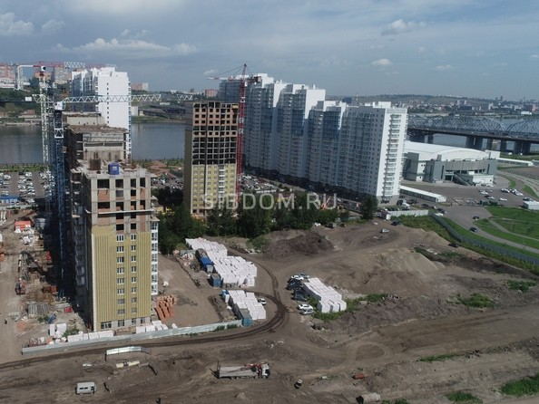 Ход строительства 5 августа 2021