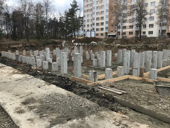 Ход строительства апрель 2019